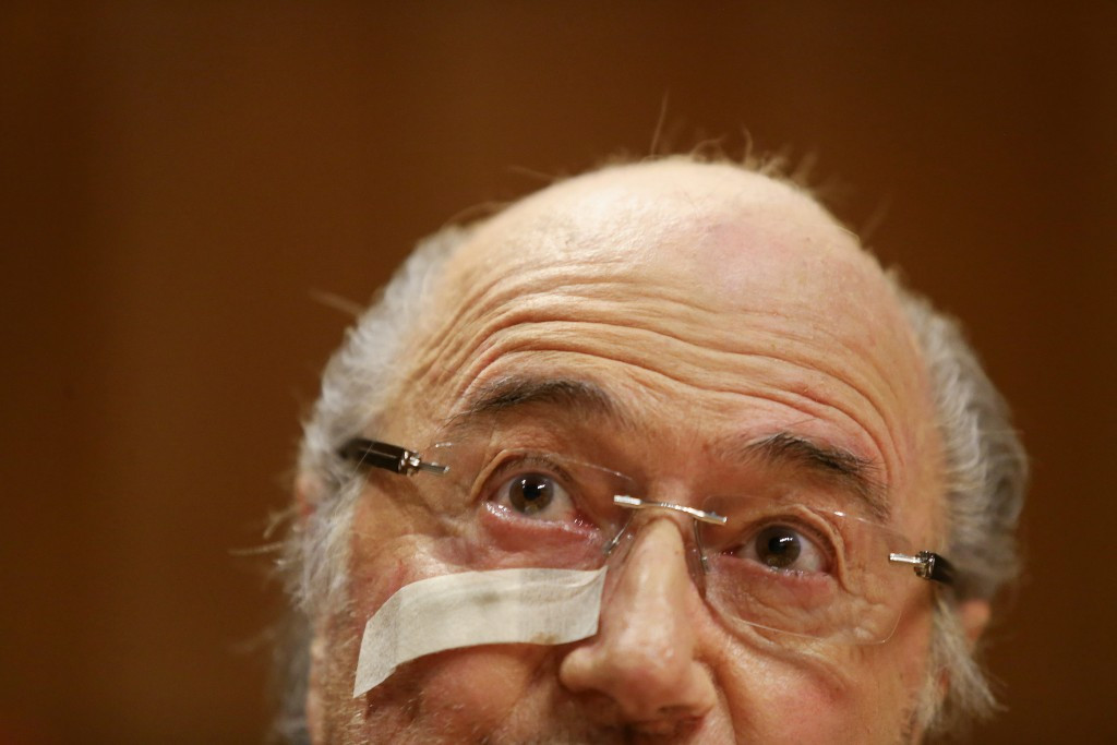 FIFA was rocked by the suspension of its President Sepp Blatter