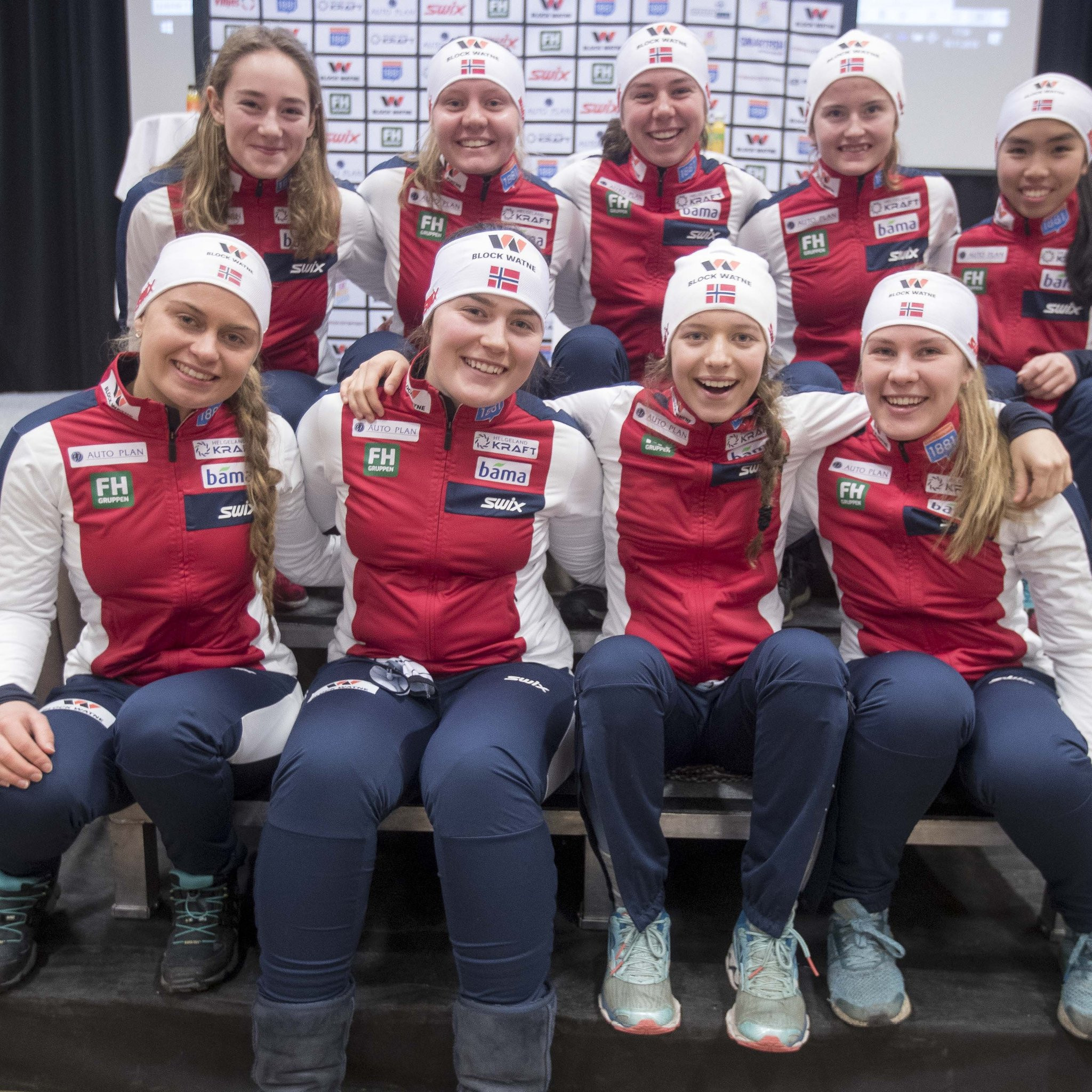 Online training camp for women's Nordic combined declared a success