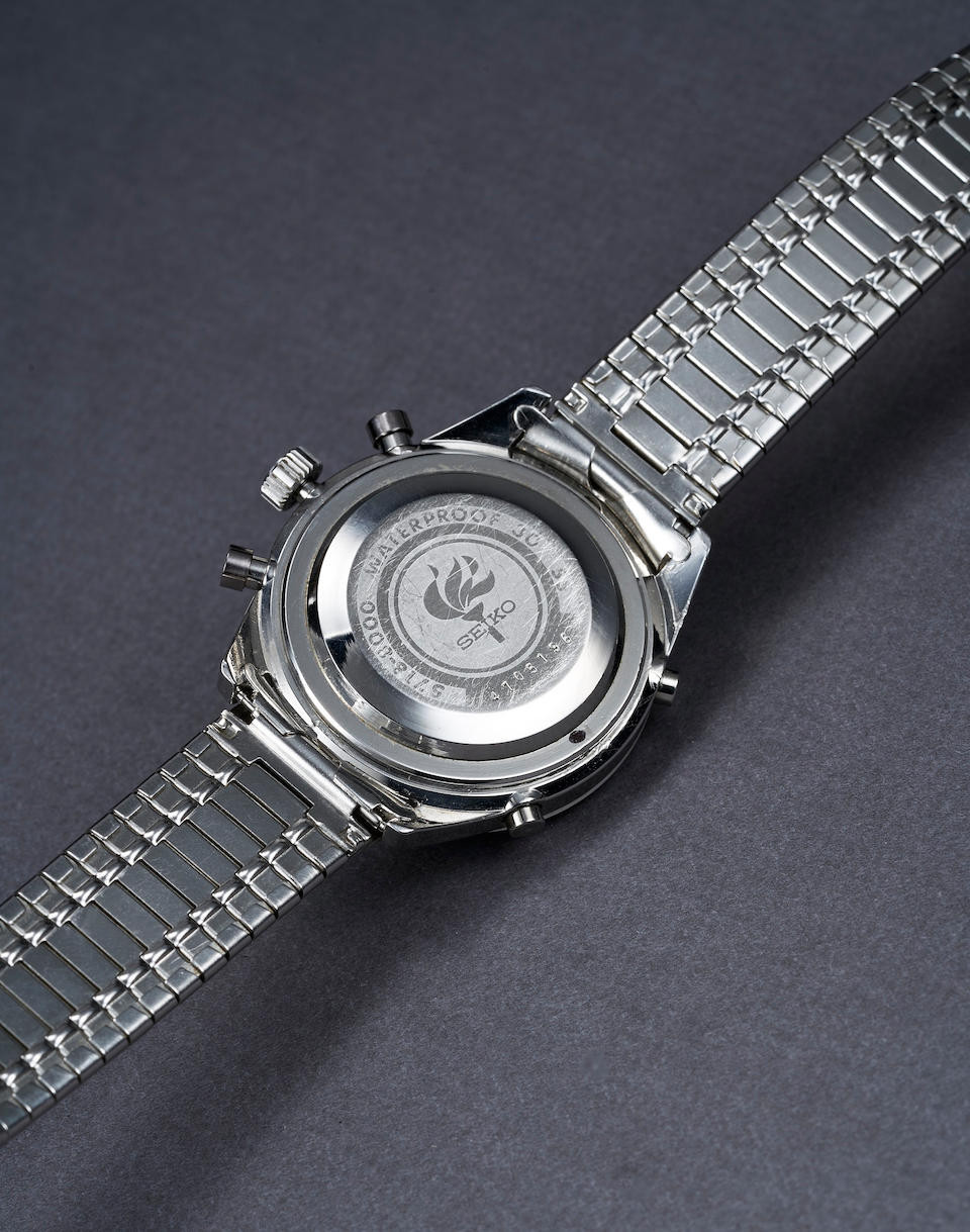 Seiko manufactured the watch to celebrate them being official timekeeper of the 1964 Olympic Games in Tokyo ©Seiko
