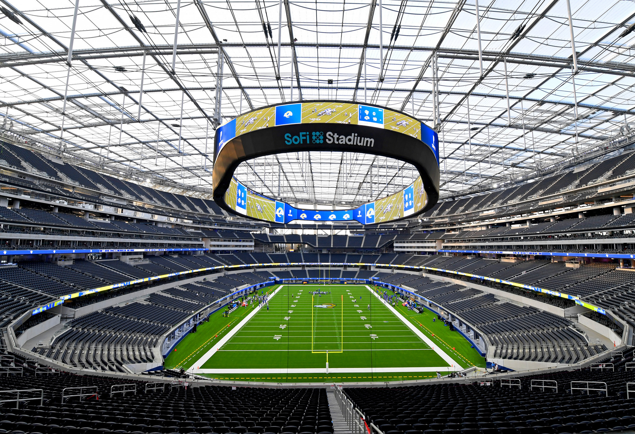 """Los Angeles Sofi Stadium hailed as a """"crown jewel"""" as official opening approaches"""