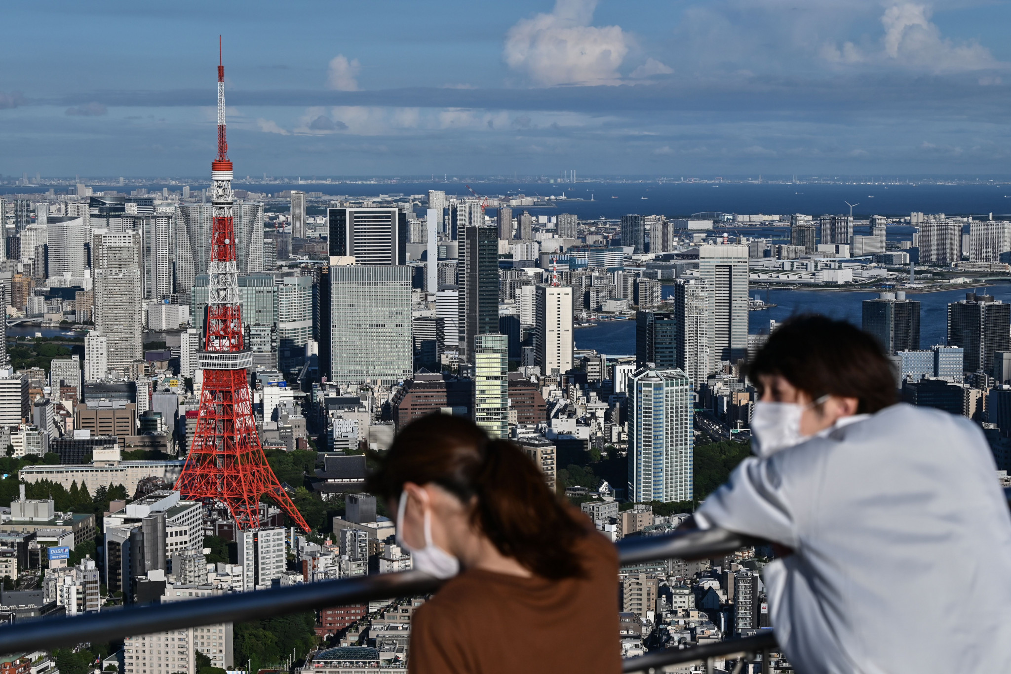 The number of new coronavirus cases has steadily reduced in Tokyo in recent weeks ©Getty Images