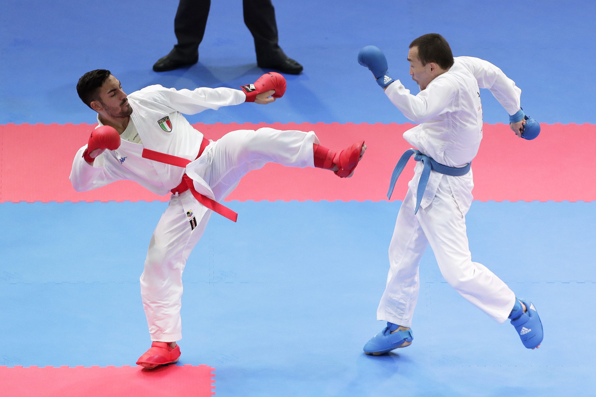 Italy staging karate training camp to gear up for Tokyo 2020