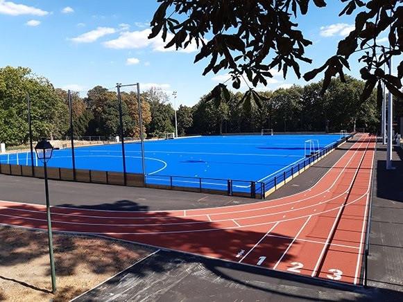 New hockey training venue created ahead of Paris 2024