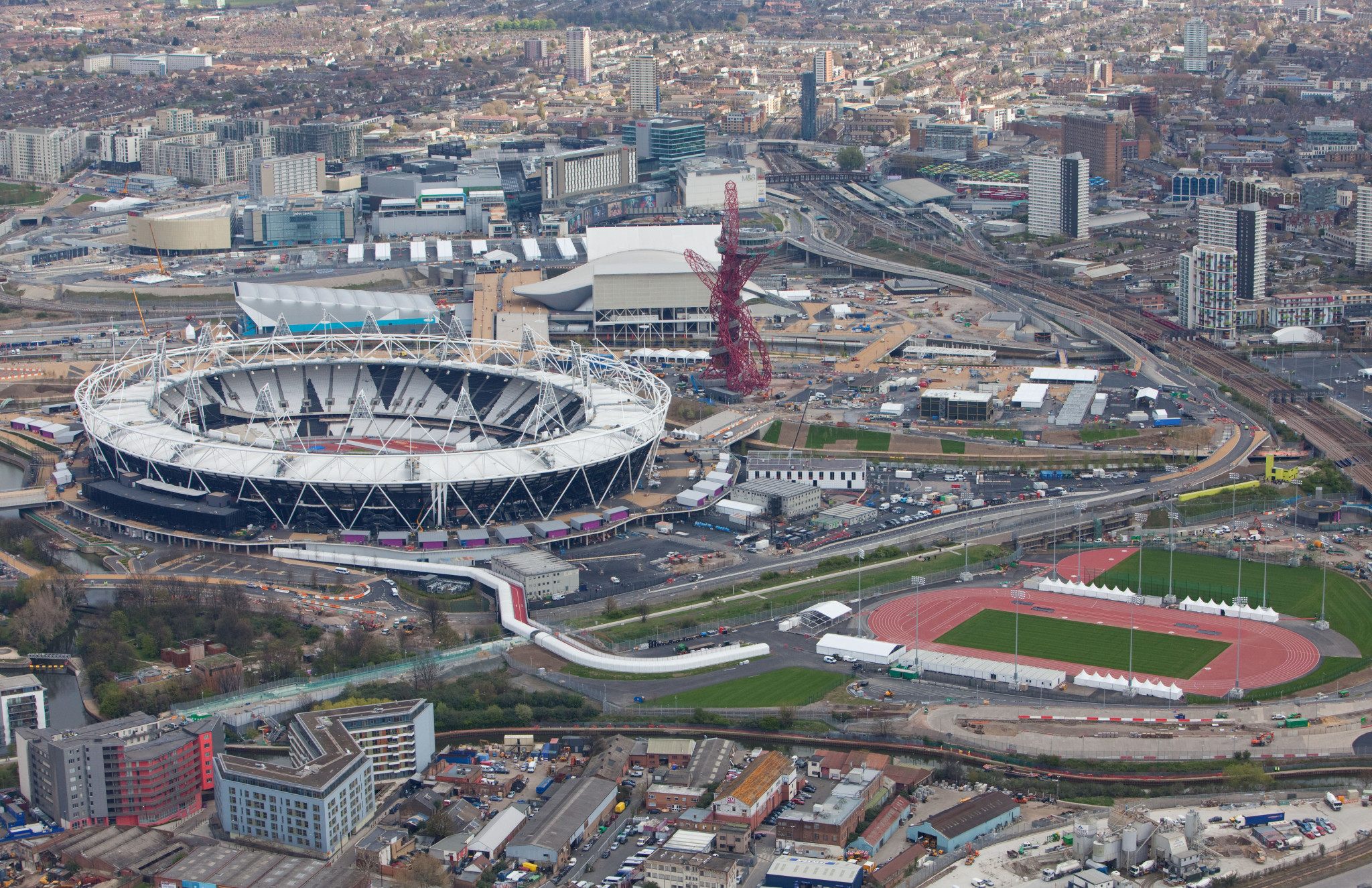 Dame Tanni-Grey Thompson said during the programme she was pleased that the Olympic Park was still used eight years on from London 2012 ©Getty Images