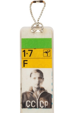 Korbut Munich 1972 accreditation sold at auction as Jordan card sets record