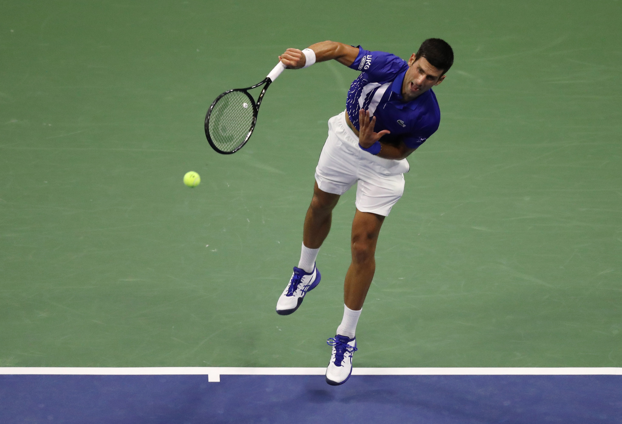 Djokovic and Osaka pass opening-night tests to reach US Open second round