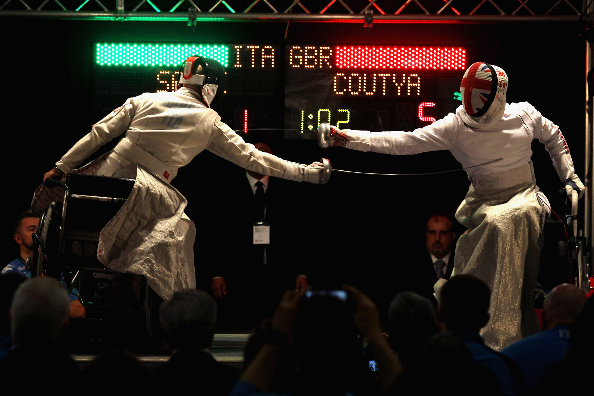 Pisa was scheduled to host the IWAS Wheelchair Fencing World Cup from November 19 to 22 ©Getty Images