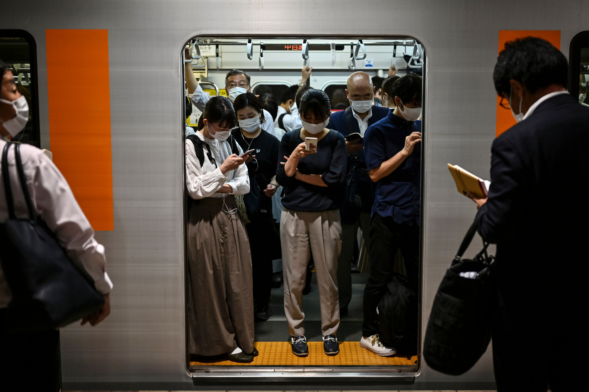 Life in Tokyo is continuing with few restrictions relative to many other major cities ©Getty Images