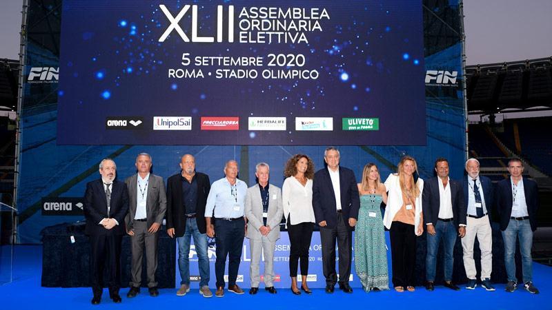 Barelli re-elected President of Italian Swimming Federation