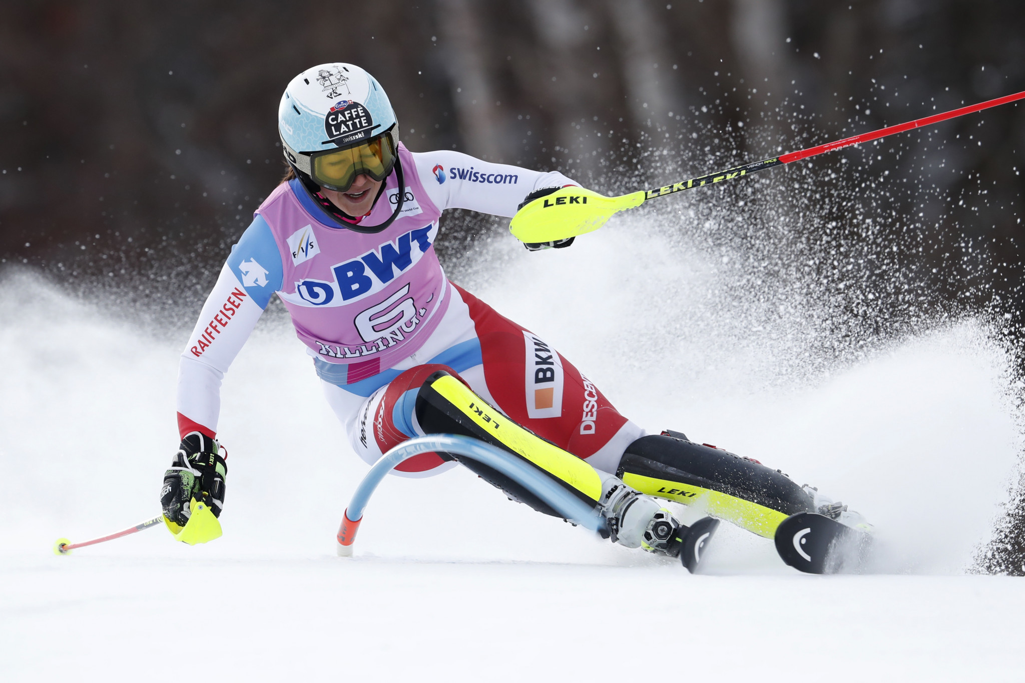 Two-time Alpine combined world champion Holdener suffers fractured leg