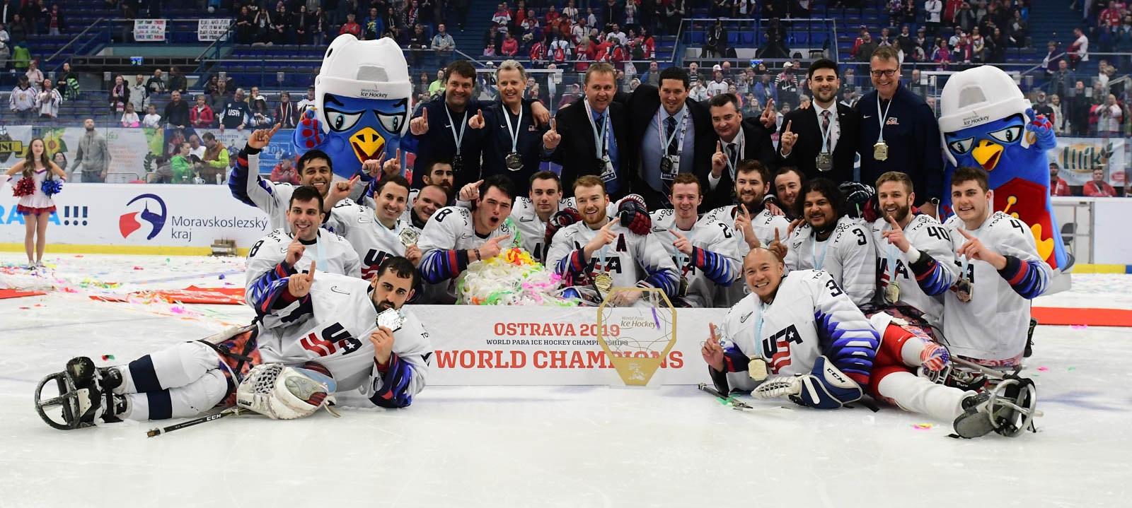 The United States won last year's World Para Ice Hockey Championships A-Pool in Ostrava ©World Para Ice Hockey