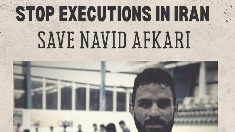 IOC President Thomas Bach said the organisation was extremely concerned by the Navid Afkari case ©Change.org