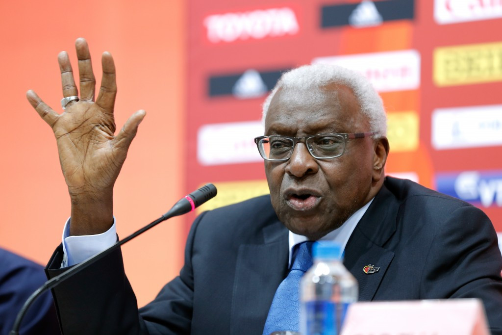 The Black Tidings account was linked to former IOC member Lamine Diack ©Getty Images