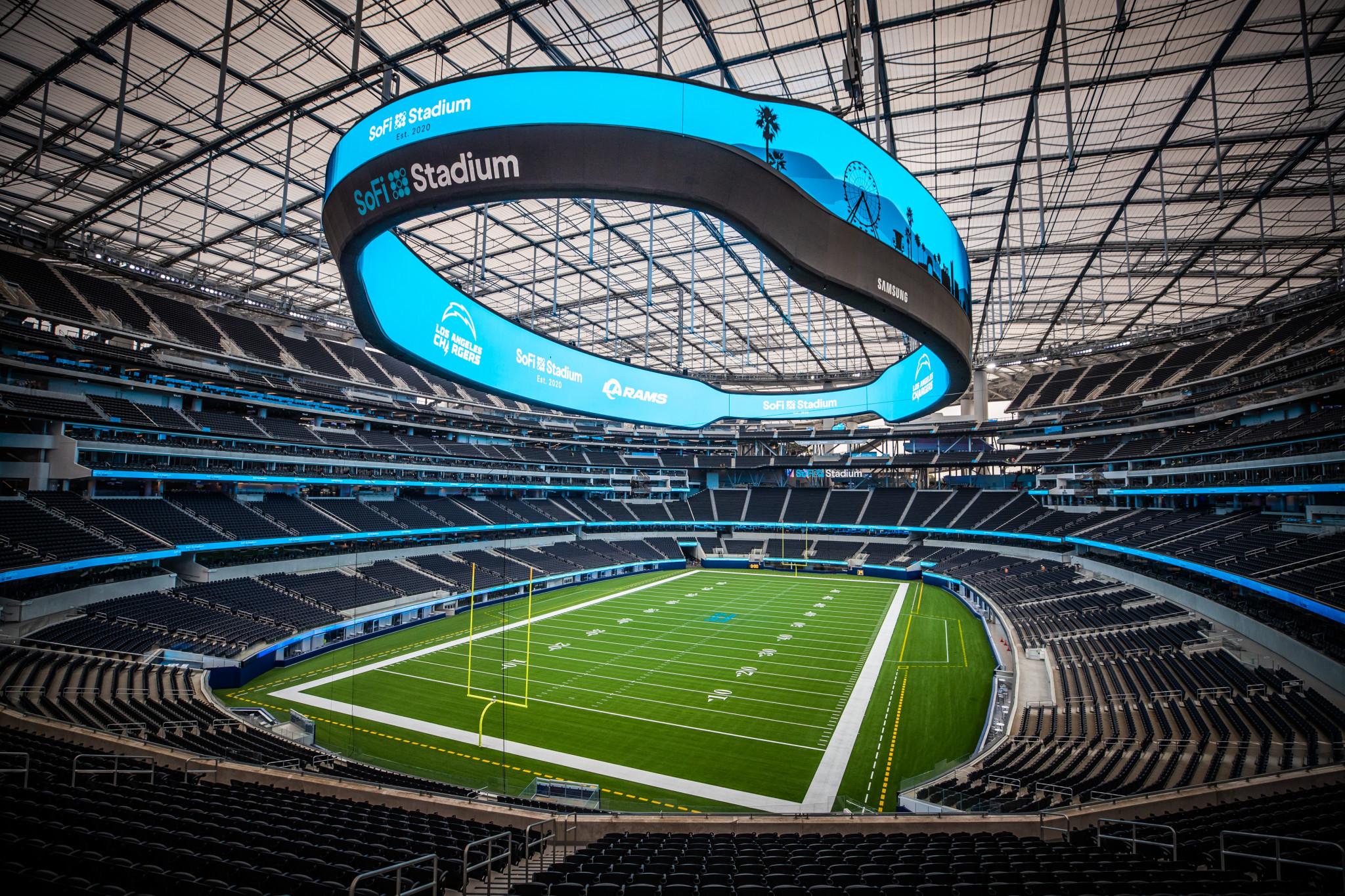Ribbon cut as Rams set to open SoFi Stadium behind closed doors