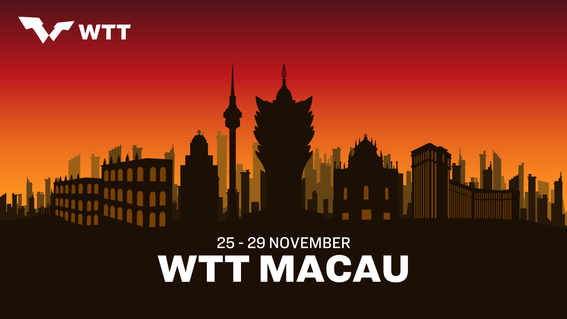World Table Tennis to hold showcase event in Macau in November