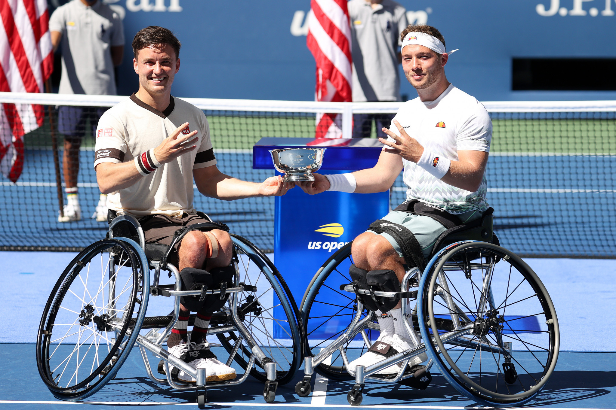 Top seeds triumph in first US Open wheelchair tennis finals