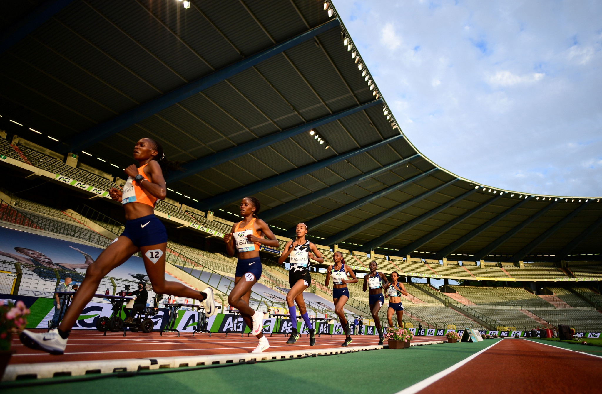 Track and field athletes have been able to compete again at Diamond League events ©Getty Images