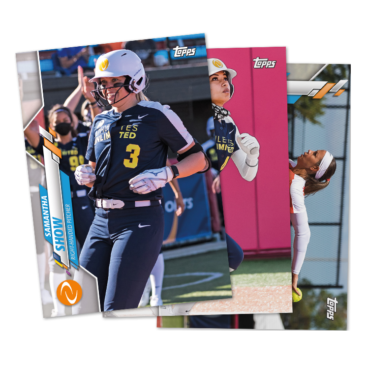 Topps launch first set of cards for women's softball