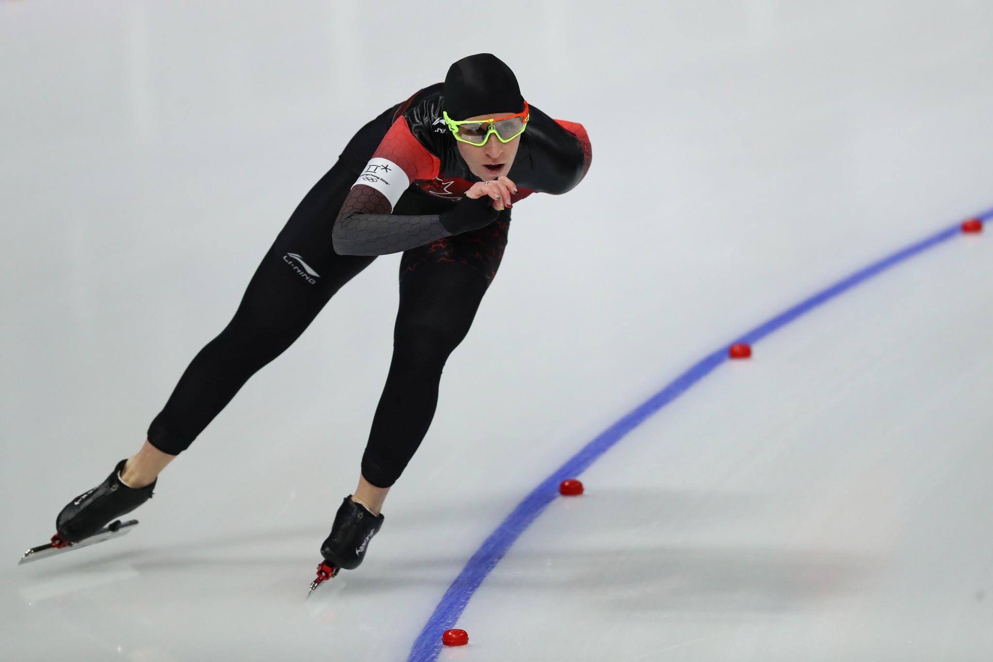 Canadian speed skating quartet honoured after 28-medal haul