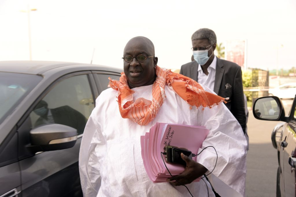 Papa Massata Diack claimed he had been the victim of a conspiracy ©Getty Images