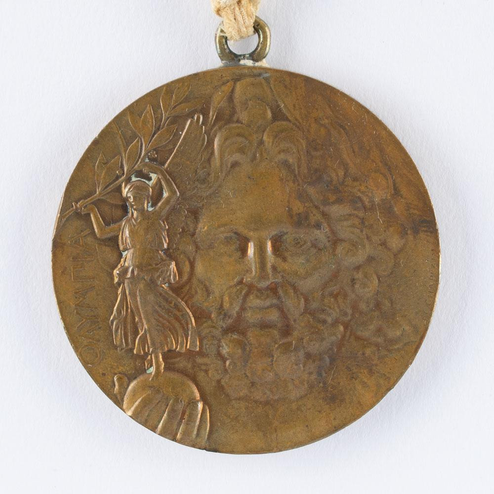 Rare Athens 1896 Olympic medal sold at auction