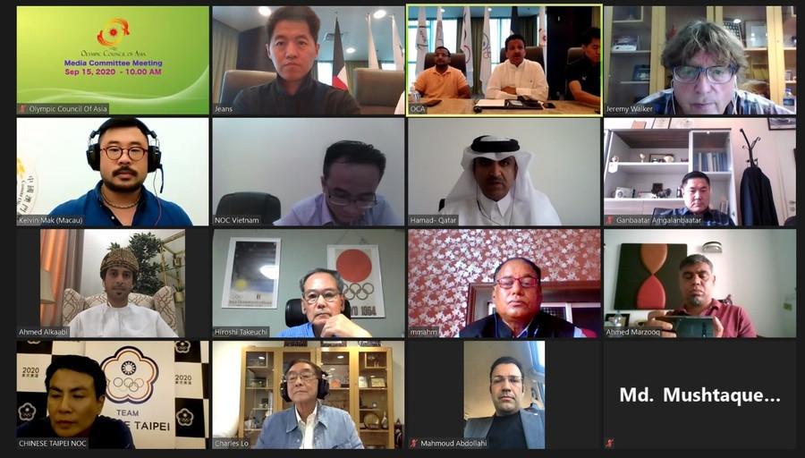 Hangzhou 2022 tops agenda at OCA Media Committee meeting