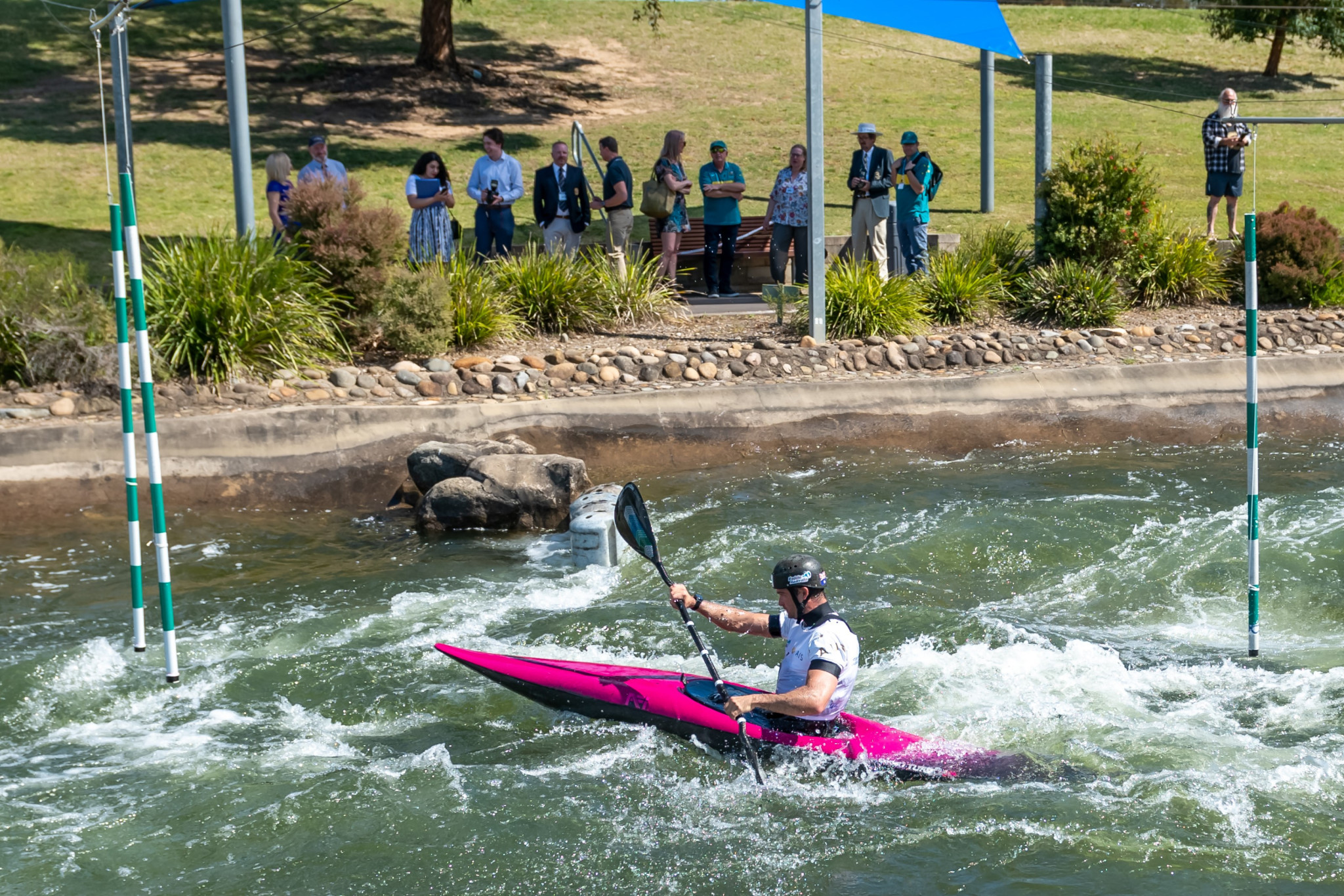 Lucien Delfour used the event as a training session ©Paddle Australia