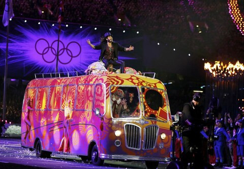 London 2012 Closing Ceremony bus up for sale on eBay
