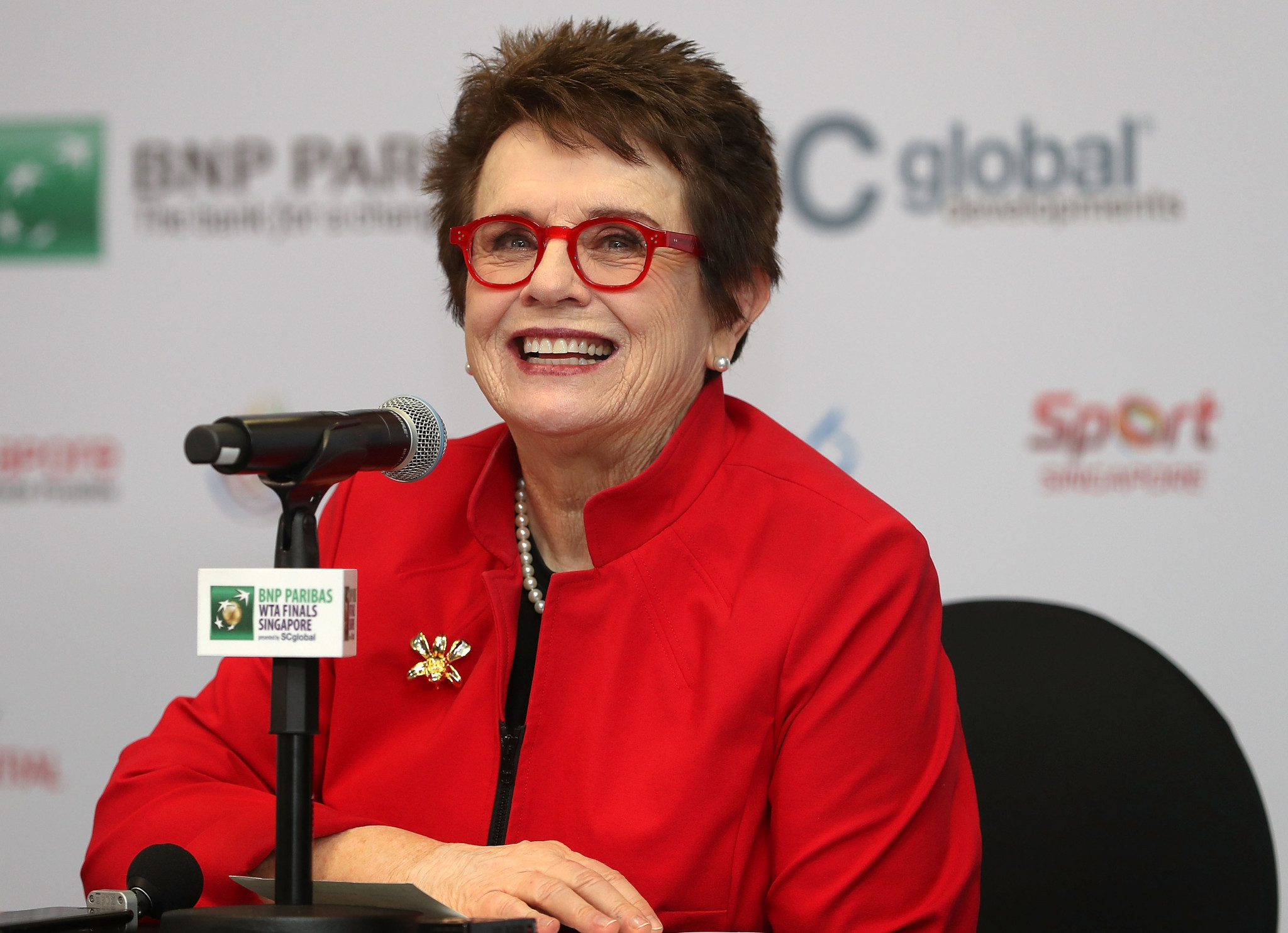Tennis legend Billie Jean King is among the athletes to sign a brief against the anti-transgender bill in Idaho ©Getty Images