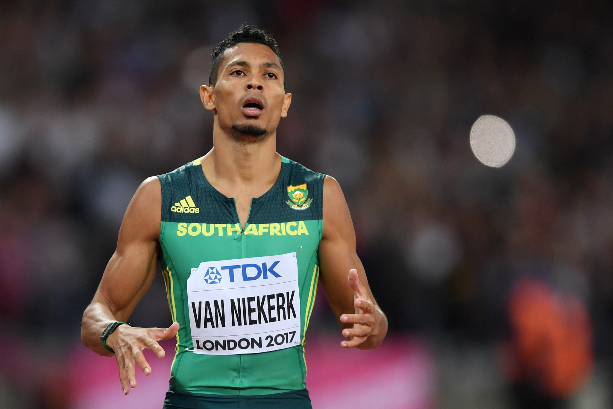 """Van Niekerk """"comfortable and confident"""" over Olympic title defence after return to competition"""