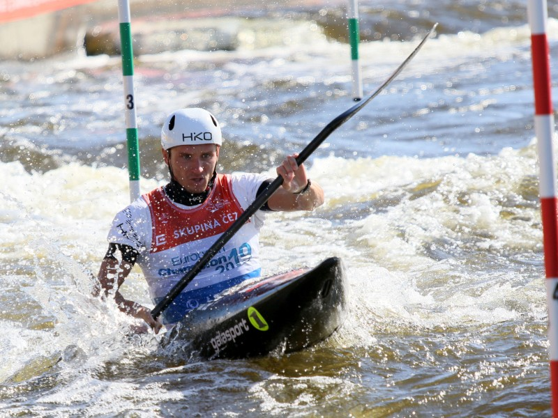 The Czech Republic team began strongly at their home event ©Canoe Europe