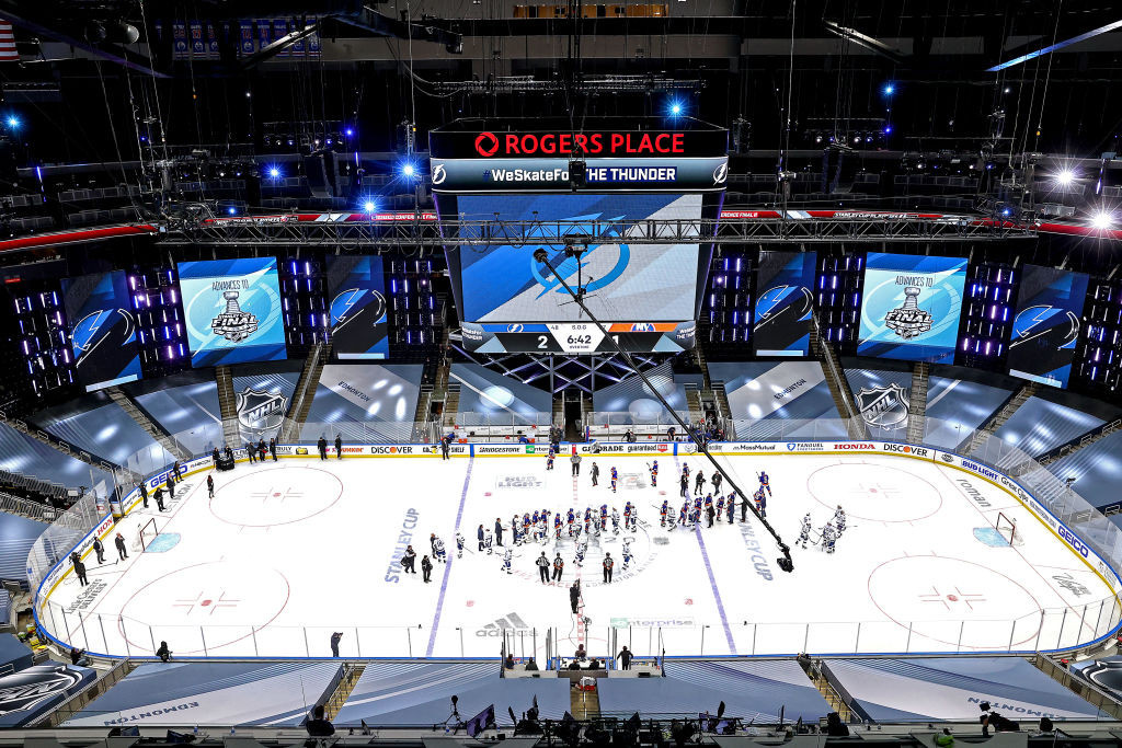 Rogers Place is set to host the 2021 IIHF World Junior Championship ©Getty Images