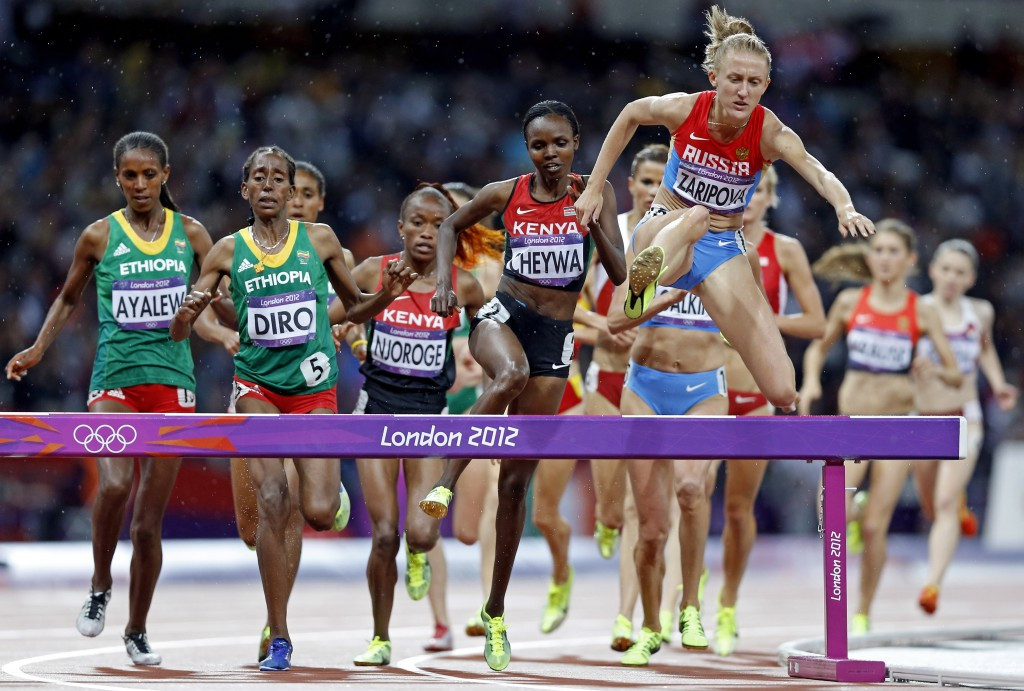 Olympic 3,000 metres steeplechase gold medallist Yuliya Zaripova is among several Russian athletes to have been caught for doping thanks to the athlete biological passport ©Getty Images
