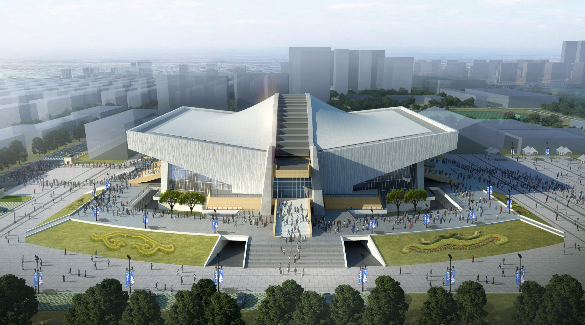 Several supporting rooms are going to be added to the Sichuan Gymnasium ©Chengdu 2021