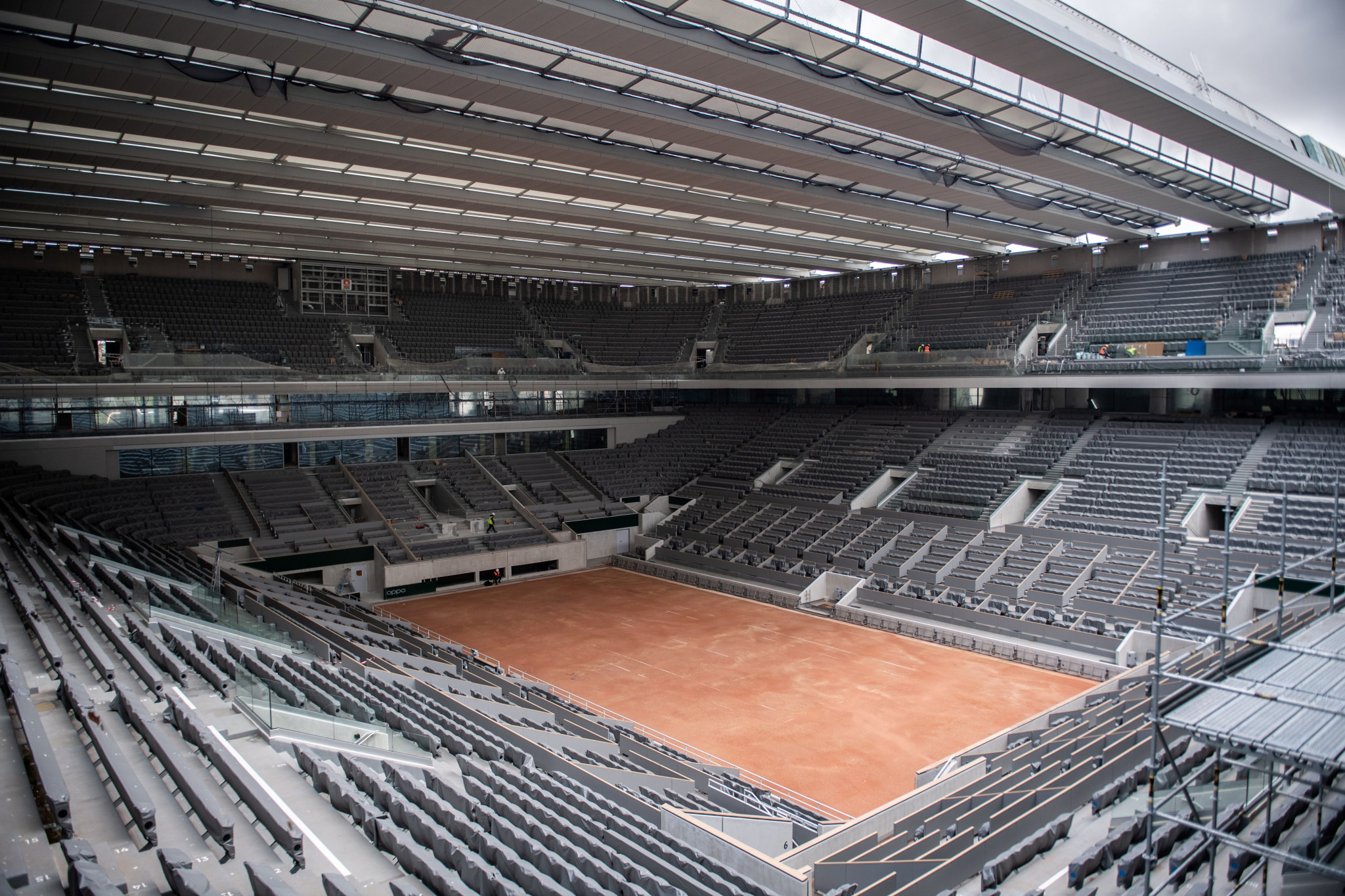 Spectator numbers cut at French Open as country records 13,215 new COVID-19 cases