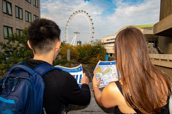 Tfl has partnered with British Orienteering to create five walking challenges ©TfL