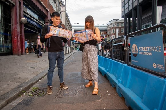 Londoners will have the chance to explore the city with a series of walks ©TfL
