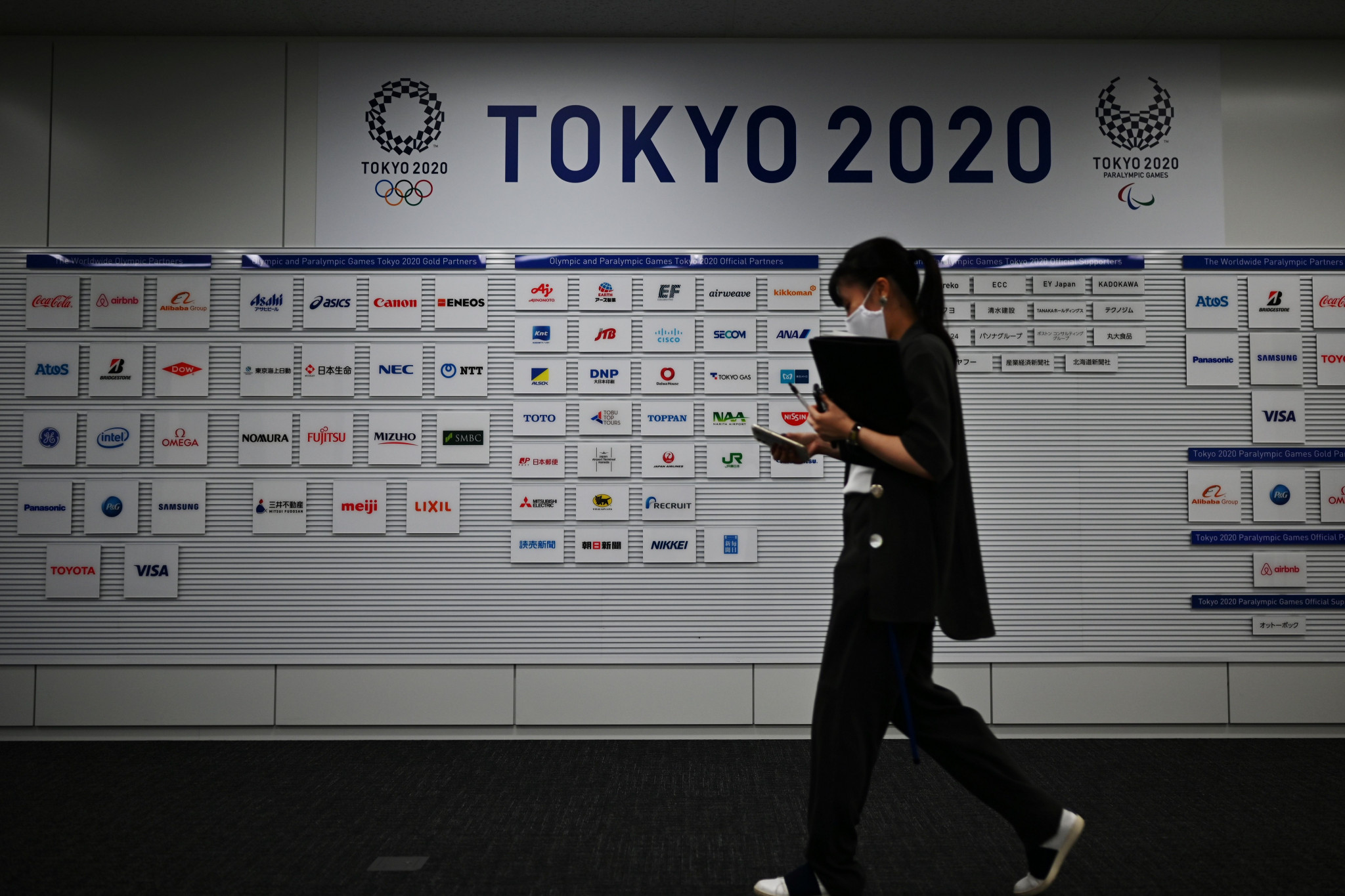Despite Thomas Bach's positive message about Tokyo 2020, there are still concerns the coronavirus pandemic may affect the upcoming Olympic Games ©Getty Images