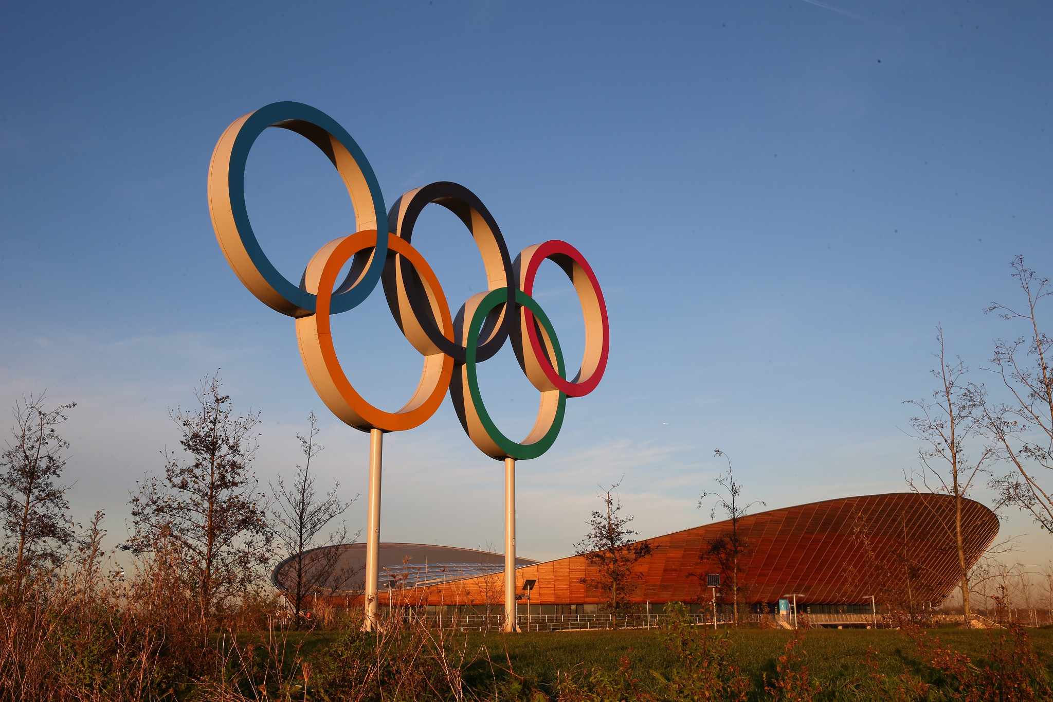 Queen Elizabeth Olympic Park was built for London 2012 ©Getty Images