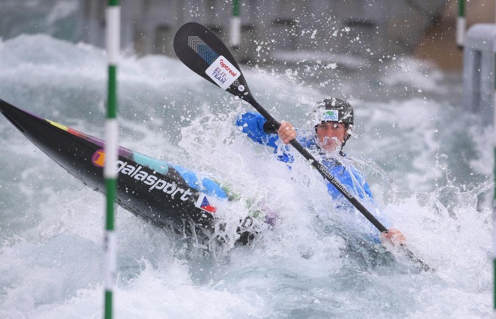 Former world champion Kudějová wins two gold medals at Canoe Slalom European Championships
