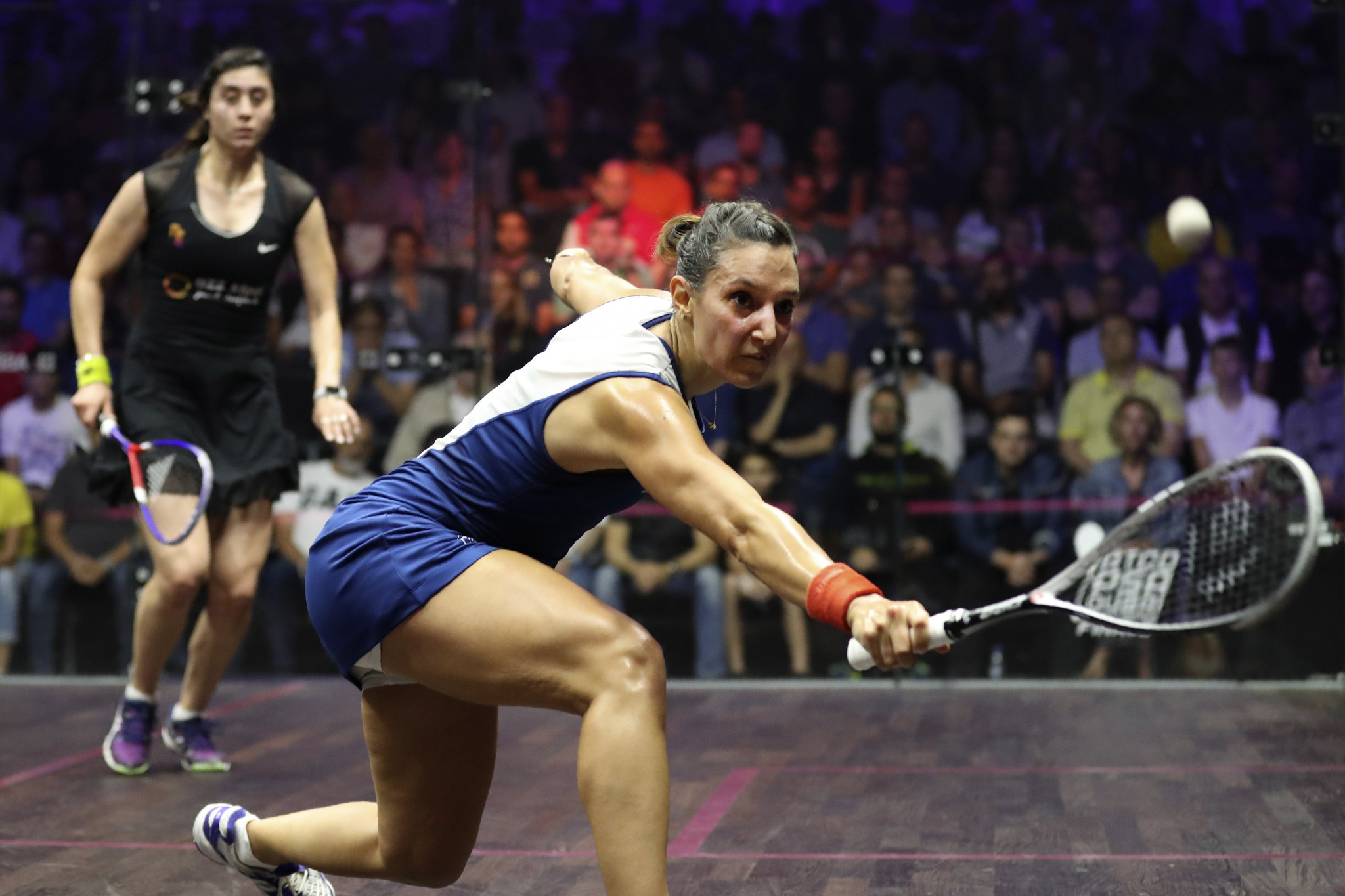 Defending champion King knocked out by Serme at PSA Manchester Open