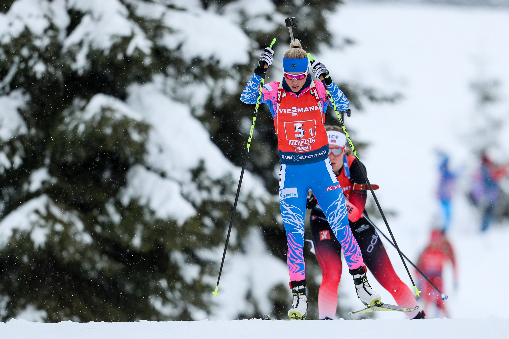 Russia's Reztsova to skip biathlon season due to pregnancy