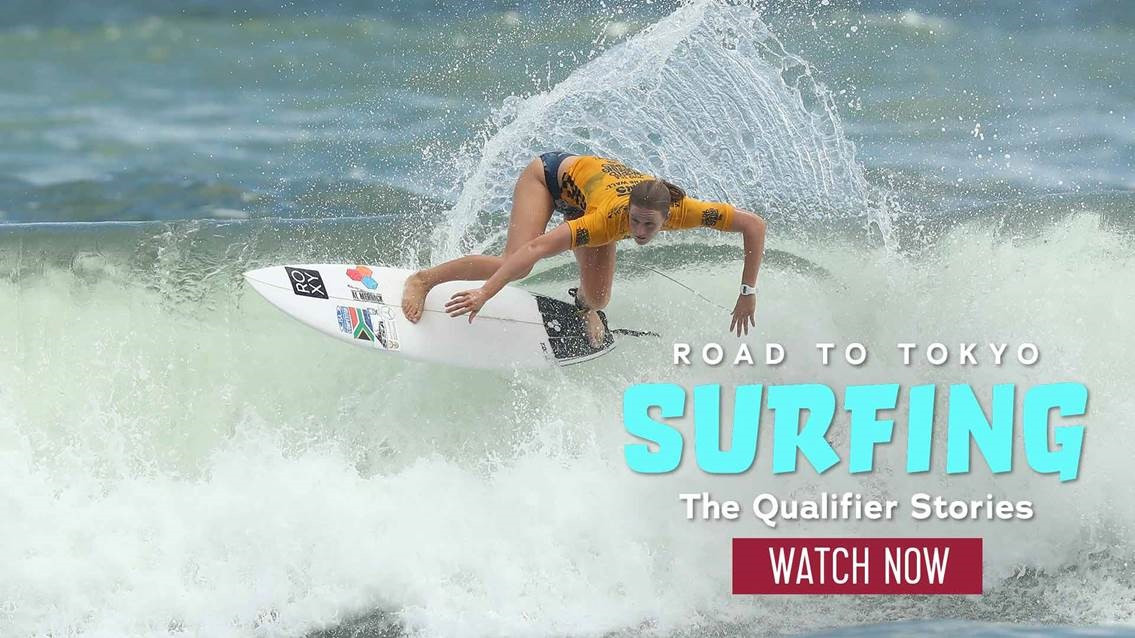 Tokyo 2020 qualifiers for surfing and sport climbing feature in new Olympic Channel series