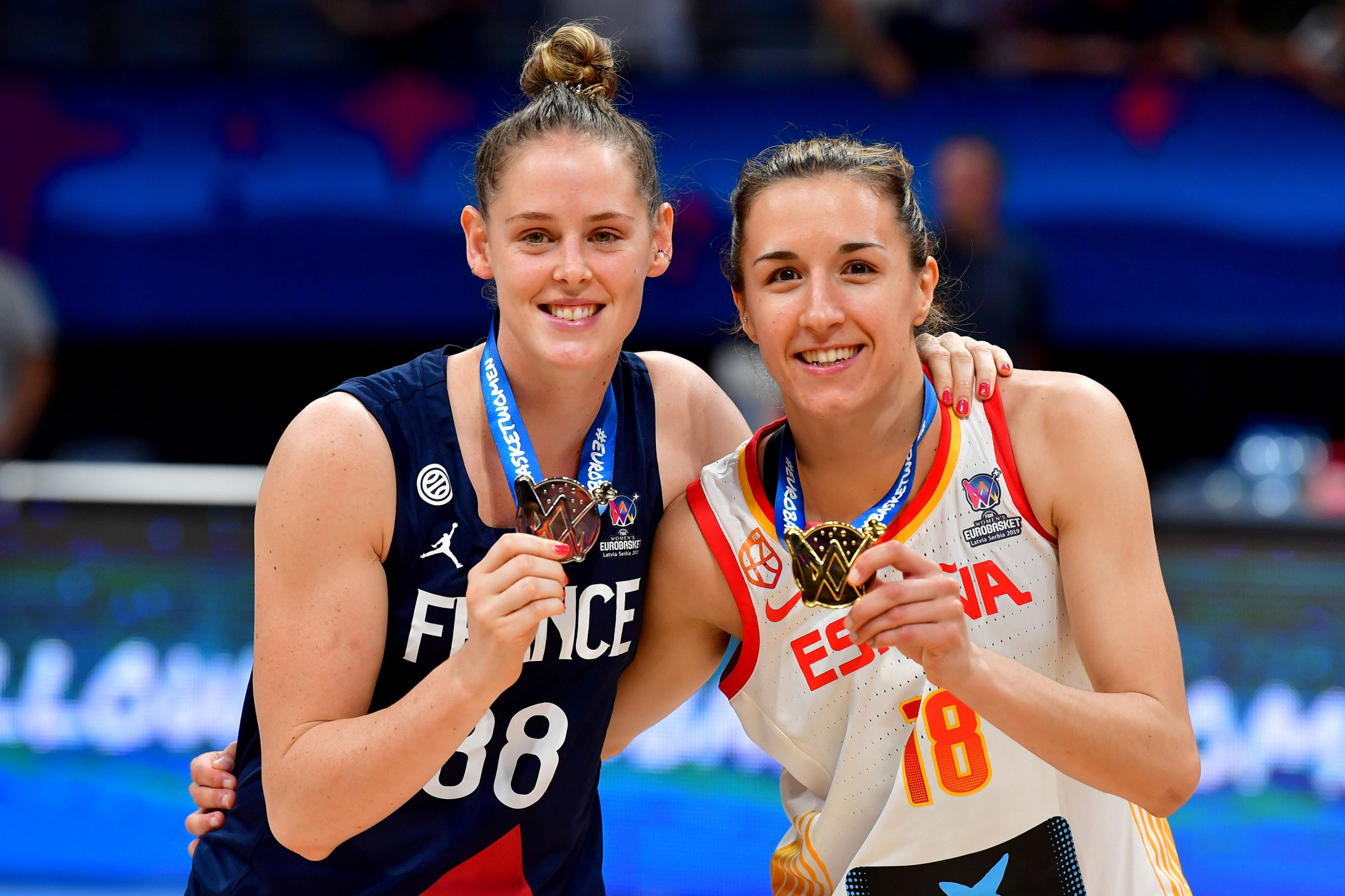 France and Spain will co-host the FIBA Women's EuroBasket 2021 ©Getty Images