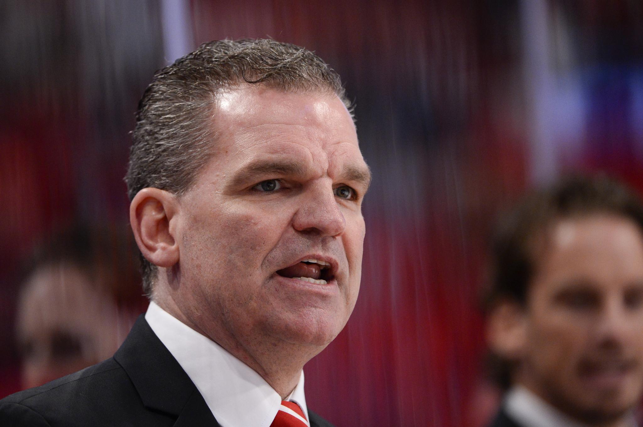 Former Swiss coach Simpson to lead Hungarian men's ice hockey team
