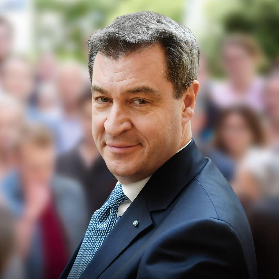 Bavarian Prime Minister Markus Söder is among those to express his concern about the UEFA Super Cup ©Facebook