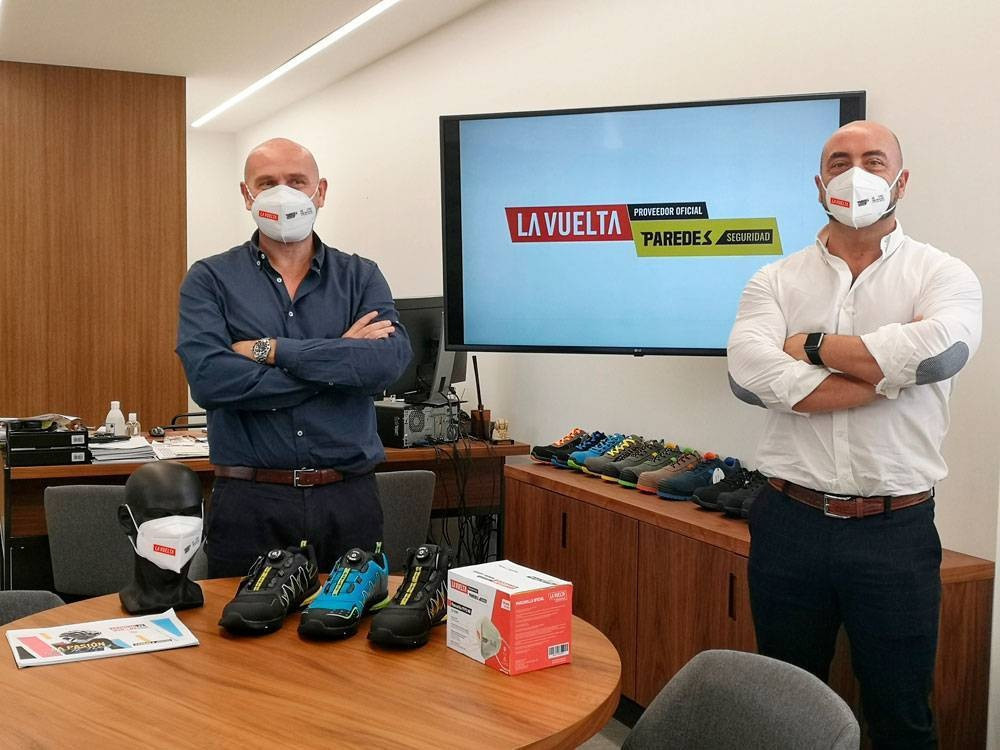 Vuelta a España boosts COVID-19 protection by securing face mask provider