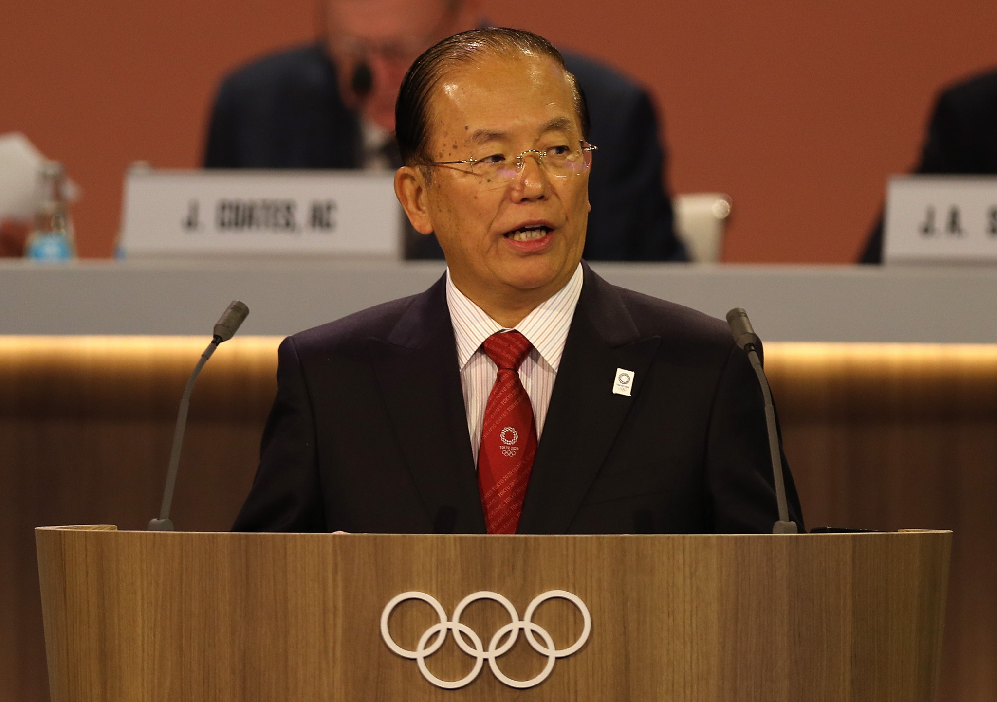 Tokyo 2020 chief executive Toshiro Muto suggests Japanese government may relax entry rules for athletes ©Getty Images