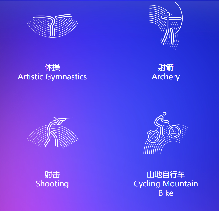 Official pictograms for Hangzhou 2022 Asian Games revealed