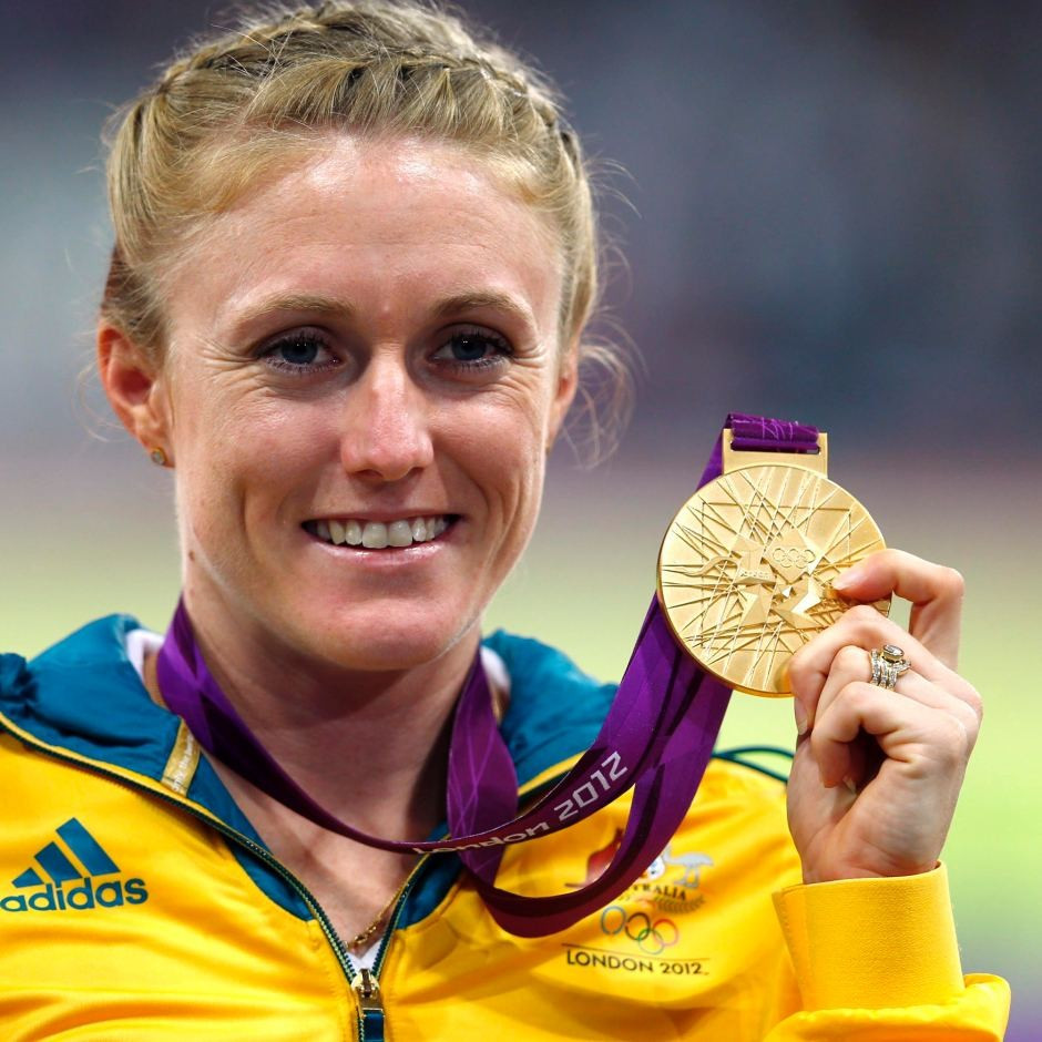 Sally Pearson claimed that switching off her social media accounts helped her win the Olympic gold medal in the 100m hurdles at London 2012 ©Getty Images